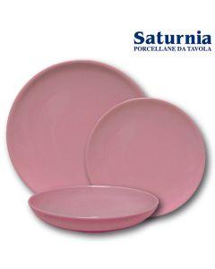 Piatto Siviglia Tondo Rosa Di Saturnia