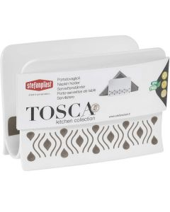 Portatovagliolo Tosca in Resina 7.5x15.5 cm di Stefan Plast