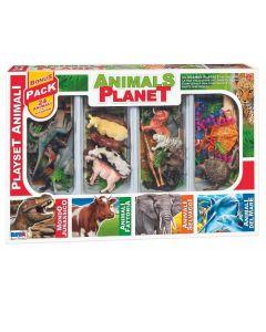 Scatola Grande Animals Planet Assortiti di Rs Toys