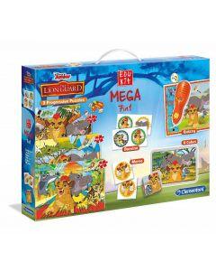 Edukit Mega 7 in 1 Lion Guard di Clementoni