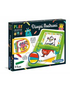 Play Creative - Disegni Mostruosi di Clementoni