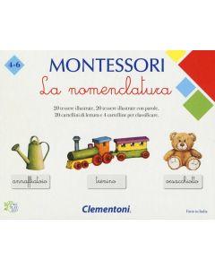 Montessori, La Nomenclatura di Clementoni