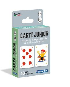 Carte - Il Gioco di Carte Junior di Clementoni