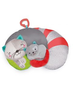 Baby Clementoni for you - Kitty cat tummy time pillow Cuscino di Clementoni