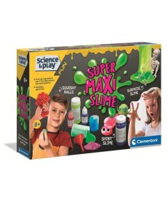 Super Maxy Slime Science and Play di Clementoni