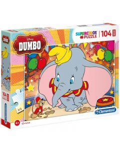 Puzzle Disney Dumbo 104 pezzi di Clementoni