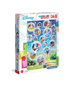 Supercolor Puzzle-Disney Classic-24 Pezzi Maxi di Clementoni