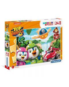 Puzzle 24 Maxi Top Wings di Clementoni