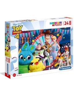 Supercolor Puzzle Toy Story 4 24 Maxi di Clementoni