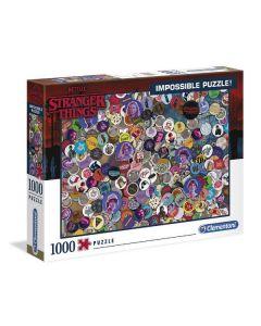 Puzzle Stranger Things Impossibile 1000 Pz di Clementoni