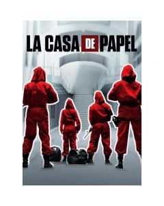 Impossible Puzzle - La Casa de Papel Squadra - 1000 Pezzi di Clementoni