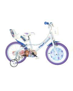 Bicicletta bambina, 16 pollici, Frozen 3 di Dino Bikes