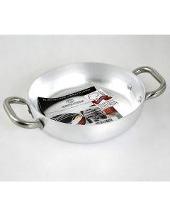 Tegame in Alluminio 2 Manici in Acciaio Inox ALMA11036 di Agnelli