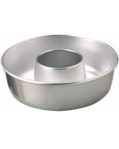 Stampo Alluminio Teglia Ciambella con Tubo di Agnelli