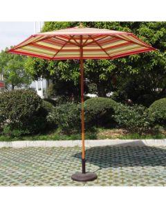 Ombrellone da giardino Palo Centrale 270x270 di Greenwood
