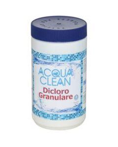 Dicloro Granulare 1kg Acqua Clean Per Piscine di Fraschetti