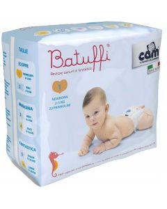 Pannolini Batuffi Misura 1 New Born 2/5 kg - 22 Pezzi di Cam