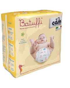 Pannolini Batuffi Misura 4 Maxi 7/18 kg - 18 Pezzi di Cam