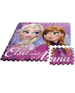 Tappeto Puzzle 9 Pezzi Frozen di Rocco Giocattoli