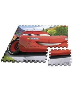 Tappeto Puzzle 9 Pezzi Cars di Rocco Giocattoli