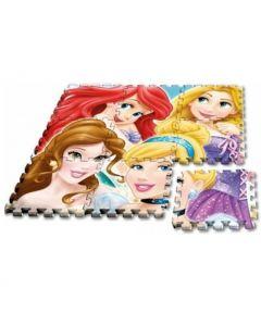 Tappeto Puzzle 9 Pezzi Princess di Rocco Giocattoli