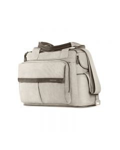 Borsa Dual Bag Aptica Silk Grey di Inglesina