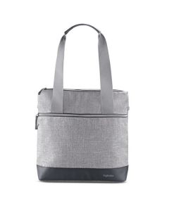 Borsa zaino Back Bag Silk Grey per passeggino Aptica di Inglesina