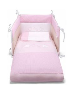 Completo Set letto sfilabile City 3 pz Rosa di Pali