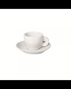 Tazzina da Caffè in Porcellana Con Piattino di Table Top