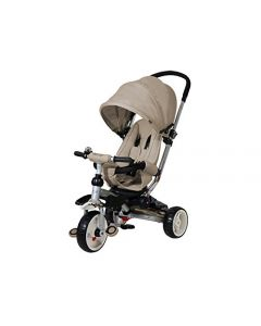 Triciclo Giro Mito Baby S Clan Beige di Real Baby