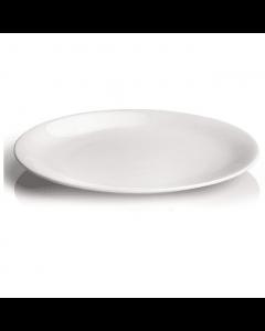 Piatto Metropolis in Porcellana Bianca di Table Top