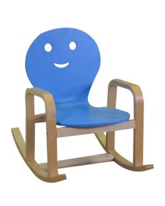 ROCKING CHAIR Blu CM38X60H50 di Vacchetti