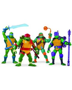 Rise of TMNT-Giant Figures 30 cm assortito di Giochi Preziosi