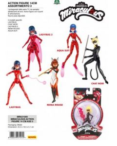 Miraculous Action Figure 14cm Ass. 3 di Giochi Preziosi