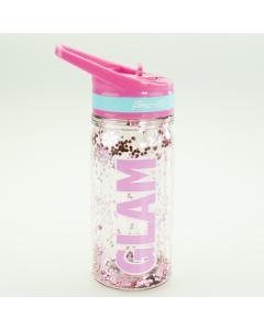 Girabrilla Eco Bottiglia con Glitter 350ml di Nice