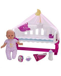 Nenuco Dormi con Me Interattiva, con Baby Monitor di Famosa