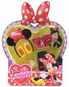 Accessori I Love Minnie assortiti di Famosa