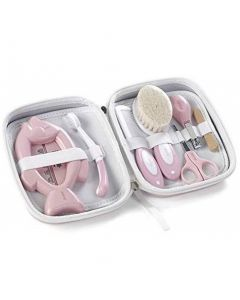 Set igiene con beauty case BOHO rosa jane