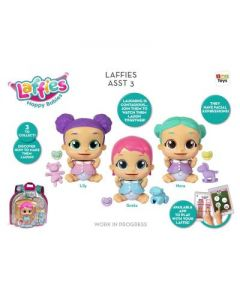 Bambole Laffies Assorite di IMC Toys