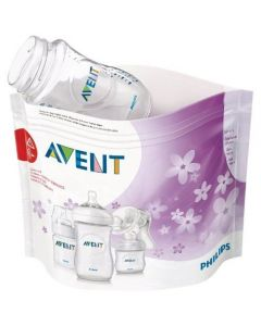 Buste per Sterilizzazione a Vapore Microonde 5 pz di Philips Avent