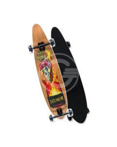 Skateboard Longboard 100X23 di RS Toys