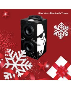 Star Wars Bluetooth Tower Speaker Darth Vader di Giocheria