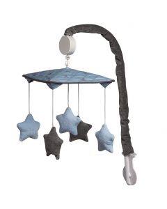 Giostrina Musicale Stella Converse Azzurro di Picci