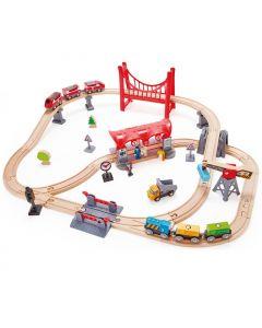 Set Ferrovia Città Trafficata di Hape