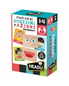 Headu Flashcards Montessori Emozioni e Azioni di Headu