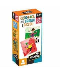 Headu Flashcards Giochi per Grandi e Piccoli di Headu