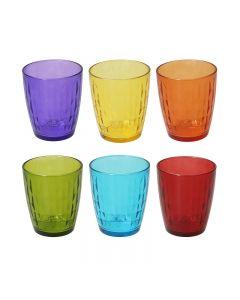 Confezione 6 Bicchieri 320 Cc Glass Gemma di Tognana