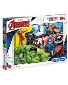 Puzzle The Avengers 104 Pezzi di Clementoni