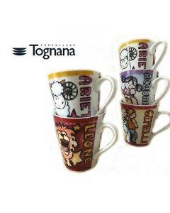 Tazza Mug Conica Iris 300 cc Segno Zodiacale di Tognana