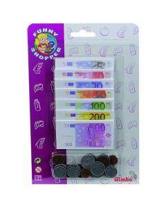Soldi Giocattolo Monete e Banconote Fac-Simile di Simba